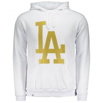 Moletom New Era MLB Los Angeles Dodgers Branco