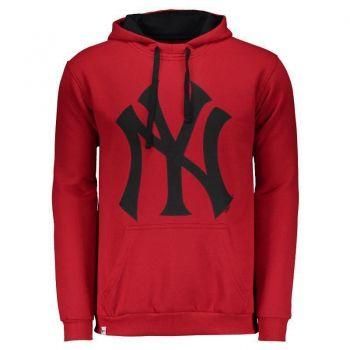 Moletom New Era MLB New York Yankees Vermelho