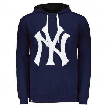 Moletom New Era MLB New York Yankees Azul e Branco