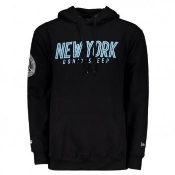 Moletom New Era MLB New York Yankees Preto e Azul