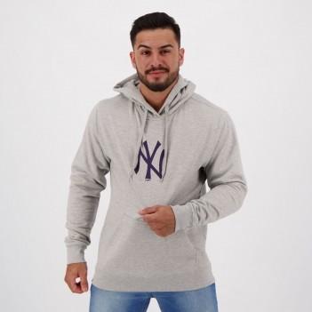 Moletom New Era New York Yankees Essentials Basic Cinza