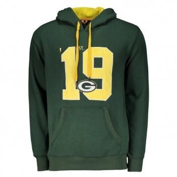 Moletom New Era NFL Green Bay Packers Verde
