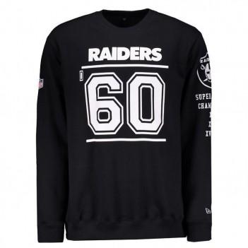 Moletom New Era NFL Oakland Raiders