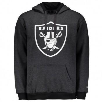 Moletom New Era NFL Oakland Raiders Grafite