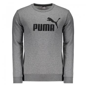 Moletom Puma Crew N° 1 Cinza