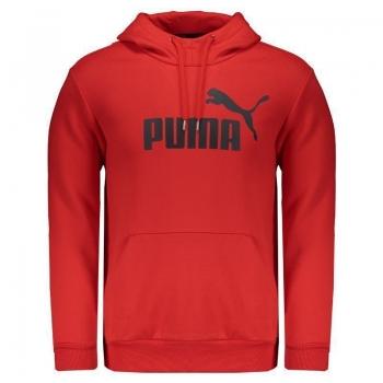 Moletom Puma Essential N°1 Vermelho