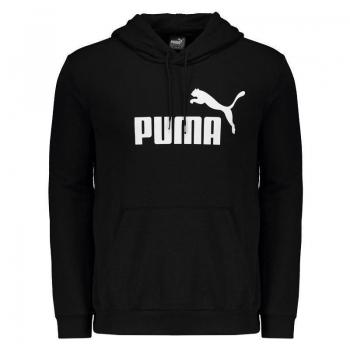 Moletom Puma Essentials Preto e Branco
