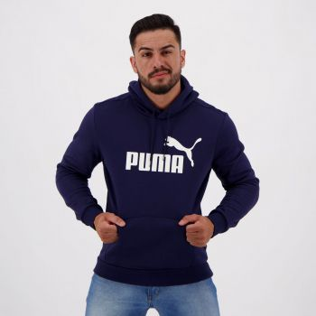 Moletom Puma Essentials Fleece Marinho