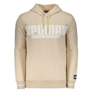 Moletom Puma Style Athletics Bege