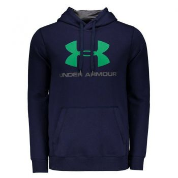 Moletom Under Armour Rival Fitted Graphic Marinho