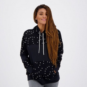 Moletom Under Armour Rival Fleece Sportstyle Preto