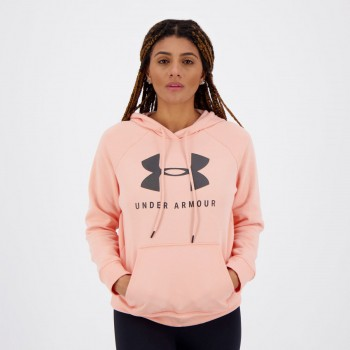 Moletom Under Armour Sportstyle Feminino Salmão