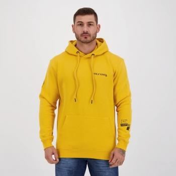 Moletom Volcom Plain Amarelo