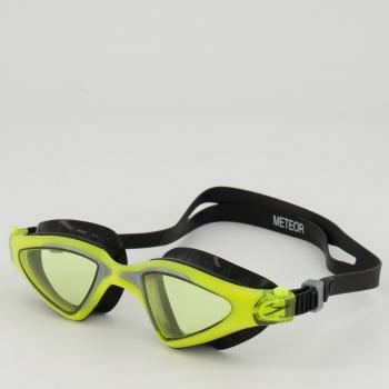 Óculos Speedo Meteor Preto e Amarelo