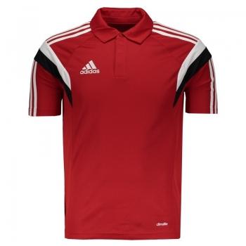 Polo Adidas Condivo 14 Viagem Vermelha