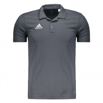 Polo Adidas Core 15 Cinza