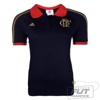 Polo Adidas Flamengo Co Feminina