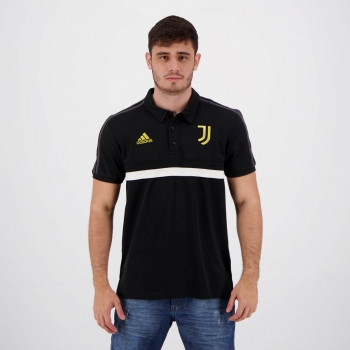 Polo Adidas Juventus Preta