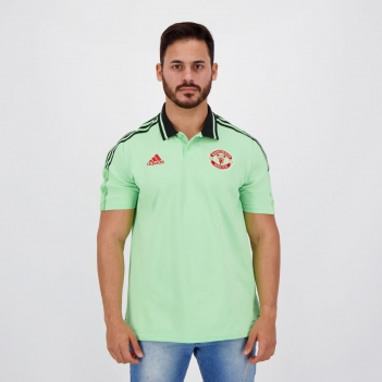 Polo Adidas Manchester United Verde