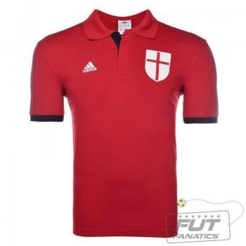 Polo Adidas Milan Core Vermelha