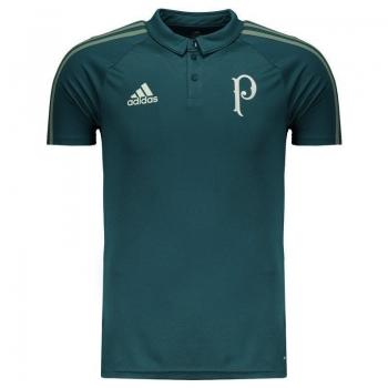 Polo Adidas Palmeiras Viagem 2017 Verde