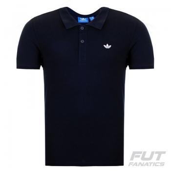 Polo Adidas Pique Originals Marinho