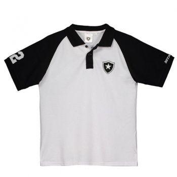 Polo Botafogo Juvenil Branca