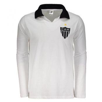 Polo Atlético Mineiro Retrô Branca