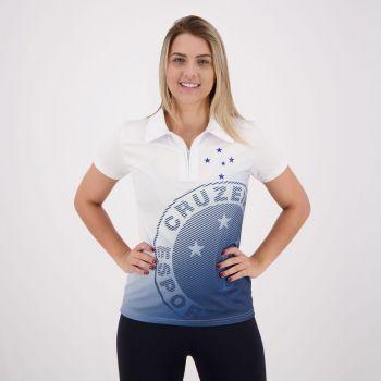 Polo Cruzeiro Lettering Feminina