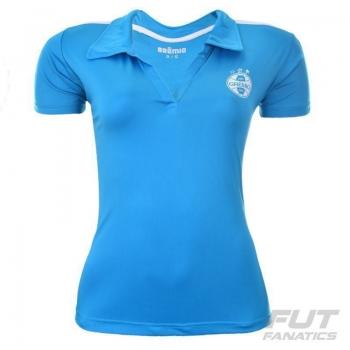 Polo Grêmio Lining Feminina Azul