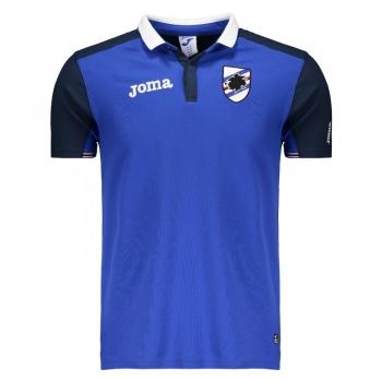 Polo Joma Sampdoria Viagem 2017 Azul