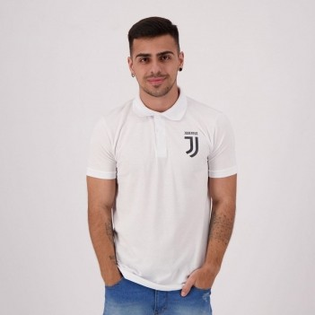 Polo Juventus Basic Piquet Branca