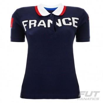 Polo Kappa Eroi França Feminina
