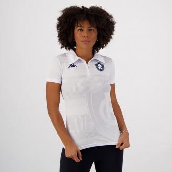 Polo Kappa Remo Viagem 2021 Feminina Branca