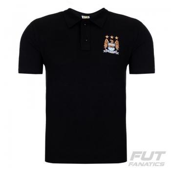 Polo Manchester City Preta