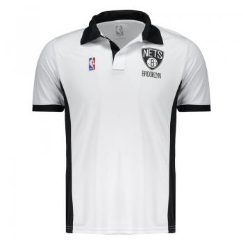 Polo NBA Brooklyn Nets Branca