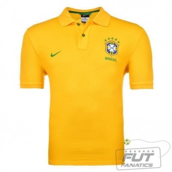 Polo Nike Brasil CBF GS Authentic