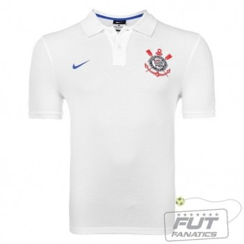 Polo Nike Corinthians GS Authentic Branco