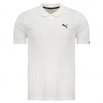 Polo Puma Essential Branca