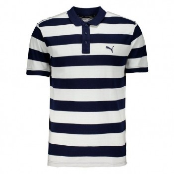 Polo Puma Piquet Essential Striped Listrada