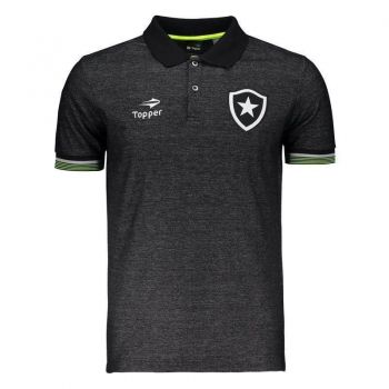Polo Topper Botafogo 2016 Viagem Preta