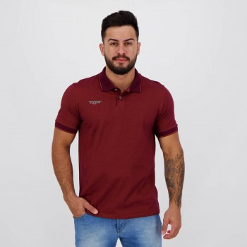 Polo Topper Casual Bordô