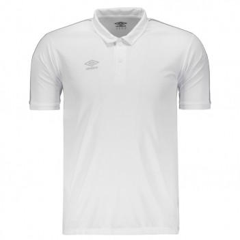 Polo Umbro Core Basic Branca