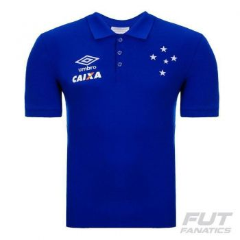 Polo Umbro Cruzeiro Viagem 2016 Azul