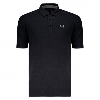 Polo Under Armour Charged Cotton Scramble Chumbo