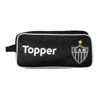 Porta Chuteira Topper Atlético Mineiro Preto