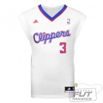 Regata Adidas NBA LA Clippers Home  2014 3 Paul