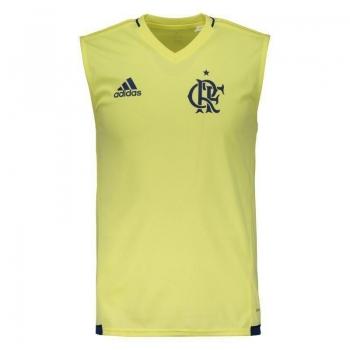 Regata Adidas Flamengo Treino 2017 Amarela