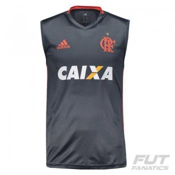 Regata Adidas Flamengo Treino 2016 com Patrocínio