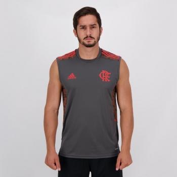 Regata Adidas Flamengo Treino 2021 Chumbo